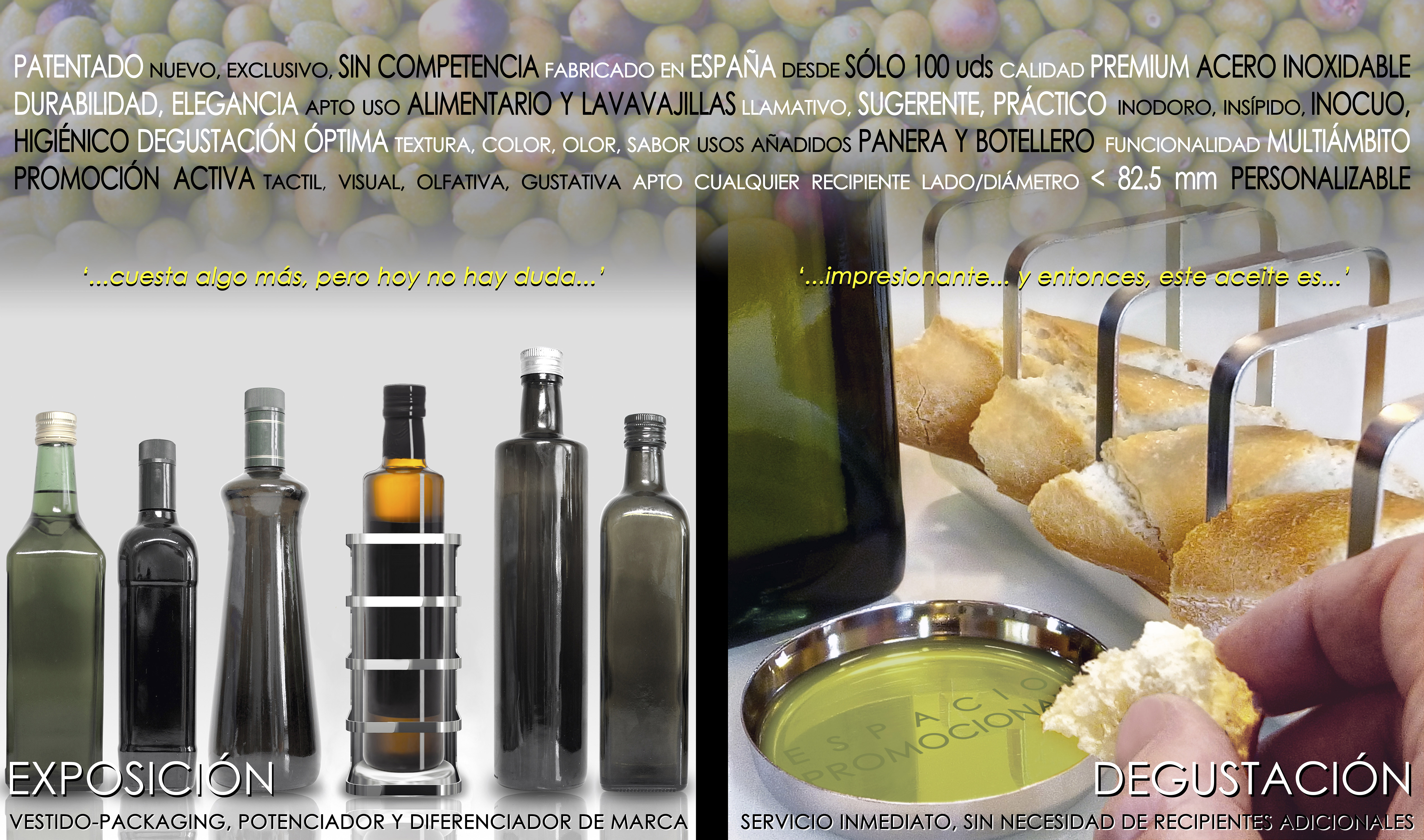 4-PRODUCTOS_03-EXPOSITOR-DEGUSTADOR-ACEITE-ACERO-INOXIDABLE_nuevo-exclusivo-patentado_resumen
